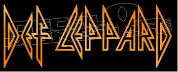 Def Leppard Band Silhouette 1 Decal Sticker Decal Max