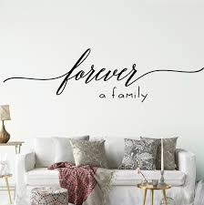 Enchantingly Elegant Forever A Family Wall Decal Wayfair