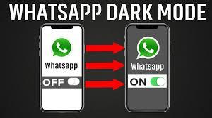 How to enable WhatsApp Dark Mode Theme for iOS