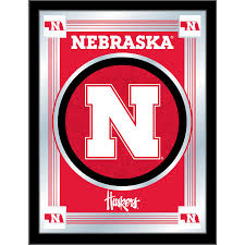 Nebraska Cornhuskers 17 X 22 Logo Mirror