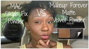 new makeup forever matte velvet powder