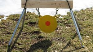 my new ar500 gong target stand you