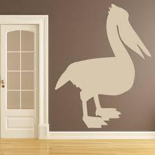 Pelican Bird Wall Decal Sticker Ws 33497 Ebay