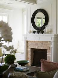 mirrors above fireplace design ideas