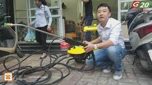 Máy rửa xe cao áp - Máy bơm rửa xe - Máy phun xịt rửa áp lực cao - Video  giới thiệu và sử dụng máy rửa xe chuyên nghiệp Himore 0719