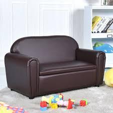 Gymax Kids Sofa Armrest Chair Lounge Couch Wood Construction Storage Box Living Room Walmart Com Walmart Com