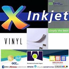 Inkjet Printable White Glossy Sticker Vinyl 5 Sh 8 5 X11 Waterproof By Sihl Ebay