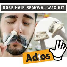 nose hair removal wax kit nasal ear