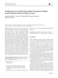 leaves of the glucosinolate transporter