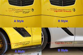C4 C5 C6 C7 Corvette Racing Decals Vettestripes Com