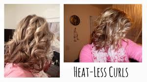 head band curls short hair