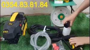 Máy rửa xe mini Panasonic 980k 0354838184 - YouTube