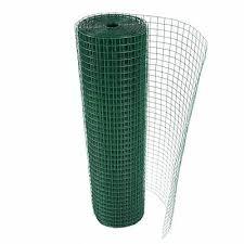 green pvc coated en wire mesh 1 x