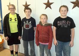 R-5 Spelling Bee Winners | Trenton Republican-Times