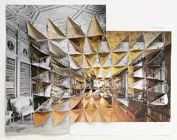 Abigail Reynolds's Collages of Folded Vintage Photographs   Hi-Fructose  Magazine