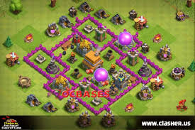 Town Hall 6 - FARMING Base Map #8 ...