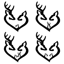 Deer Family Decal Southern Caliber Decals