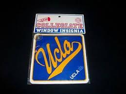 Ucla Ncaa Vintage Decal Window Insignia Car Auto Rare New Ebay