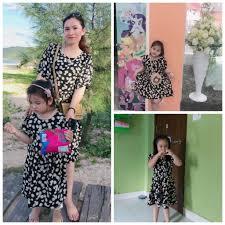 váy đôi mẹ và bé gái hoa cúc baby doll mùa hè ( cho 2 mẹ con) giảm chỉ còn  246,500 đ