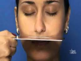 Pró-Fono: Espelho Nasal Milimetrado - YouTube