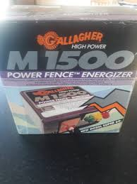 Gallagher M1500 Electric Fencer For Sale In Midleton Cork From Dfoc