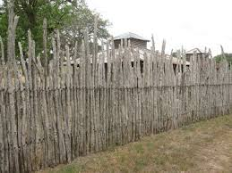 Rustic Wood Fence Designs Stockade Fence Has Animals On The Other Side Round Top Texas Rustic Garden Fence Wood Fence Design Stockade Fence