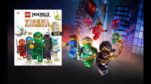 Visual dictionary LEGO ninjago DK books review - YouTube