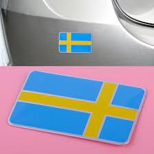 3d Sweden Swedish Flag Car Sticker Emblem Badge Decal Fender Trunk Decoration Archives Statelegals Staradvertiser Com