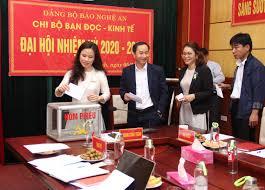 Chi bộ Bạn đọc - Kinh tế Báo Nghệ An đại hội nhiệm kỳ 2020 - 2022 ...