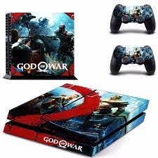 Game God Of War 4 Ps4 Skin Sticker Decal For Sony Playstation 4 Console And 2 Controllers Ps4 Skin Sticker Vinyl Skins Stickers Aliexpress