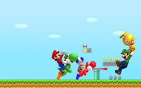 new super mario bros wii hd wallpapers
