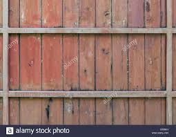 Old Wooden Fence With The Metal Frame Of The Countryside House Stock Photo Alamy