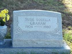 Susie Louella Shupp Graham (1904-1980) - Find A Grave Memorial
