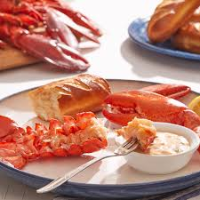 steamed lobsters with thermidor sauce ...