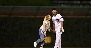 Cubs pitcher Adbert Alzolay marries Diana Inzunza in Arizona