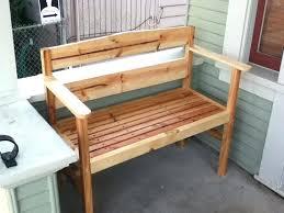 porch bench plans garden bench on a