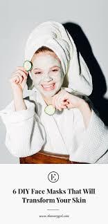 self care on a budget 6 diy face masks