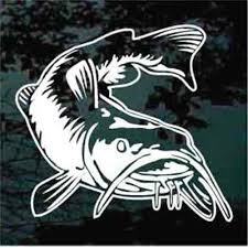 Catfish Car Decals Stickers Decal Junky