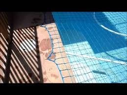 Katchakid Pool Safety Net Removal Putting On Pool Safety Part 1 Of 3 Youtube