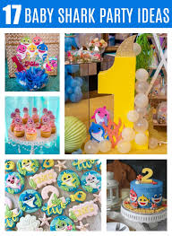 17 cute baby shark party ideas pretty