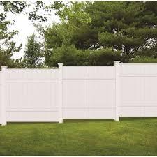Veranda 5 In X 5 In X 8 Ft White Vinyl Fence Post 73010700 The Home Depot
