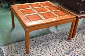 a nathan coffee table tile top and