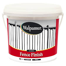 Walpamur 10l White Fence Finish Bunnings Warehouse