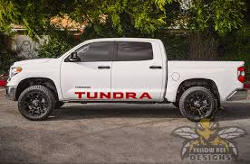 Side Tundra Logo Graphics Toyota Tundra Decals And Stickers