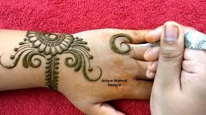 mehndi design back design