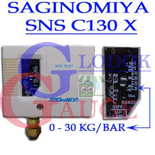 pressure switch saginomiya sns