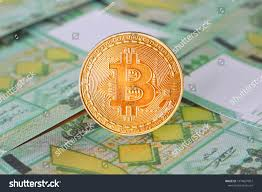 Bitcoin On Pound Lebanon Banknotes Background | Backgrounds ...