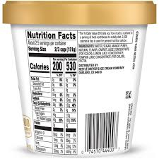 haagen dazs ice cream nutrition the