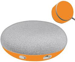 Amazon Com Mightyskins Skin Compatible With Google Home Mini Solid Orange Protective Durable And Unique Vinyl Decal Wrap Cover Easy To Apply Remove And Change Styles Made In The Usa