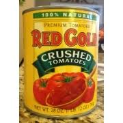 red gold crushed tomatoes calories
